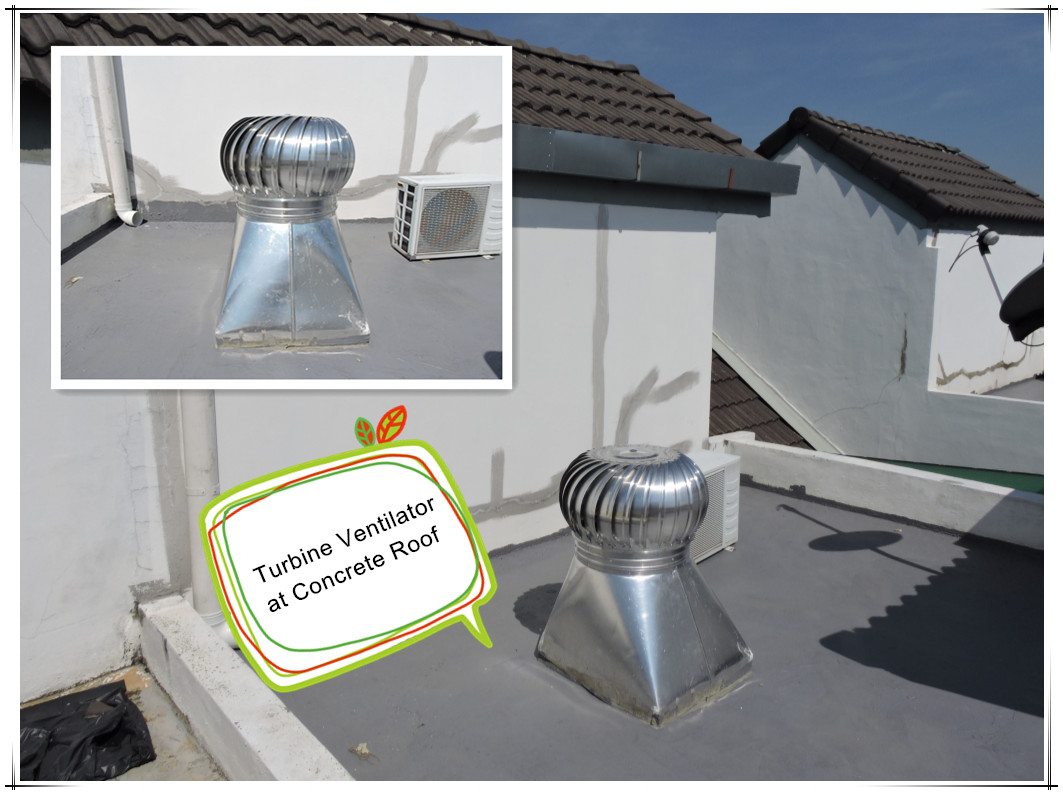 House Ventilator Taika Industries Sdn Bhd Turbine